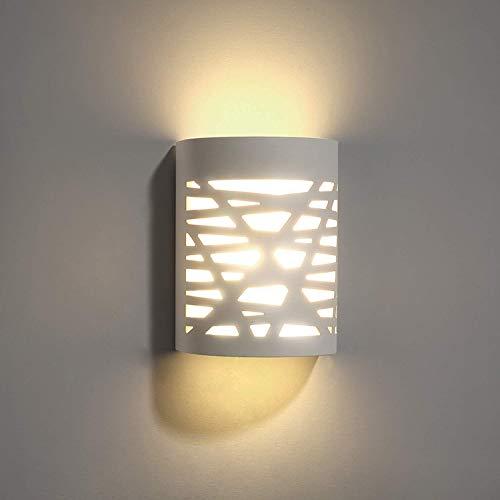 Moderno Lámpara de Pared de Cerámica, Iluminación Decorativa en Yeso Luz de Pared LED Arriba Abajo...