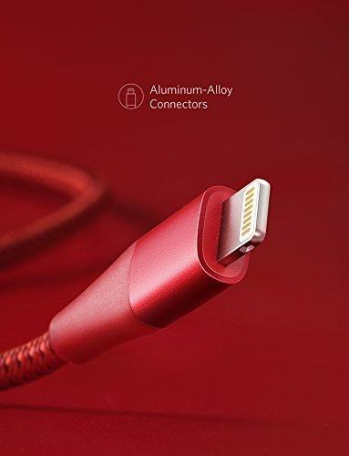 316ISvVzqnL - [Amazon.de] Anker PowerLine+ II Lightning Ladekabel 3m für 15,29€