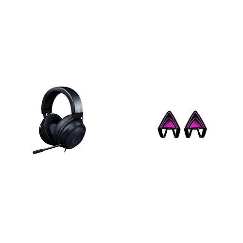 Razer Kraken mit Kitty Ears - Black Bundle