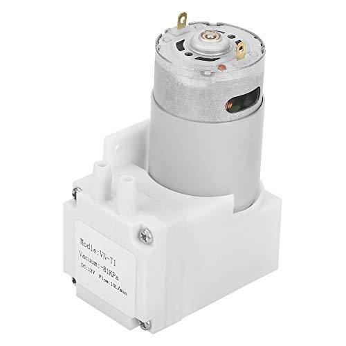 Oilless Vakuumpumpe, DC12V Mini Oilless Pumpe Oilless Vakuumpumpe -81KPa Durchfluss 10L / min für Gas Luft 12V Pumpe (12 Volt-gas-pumpe)