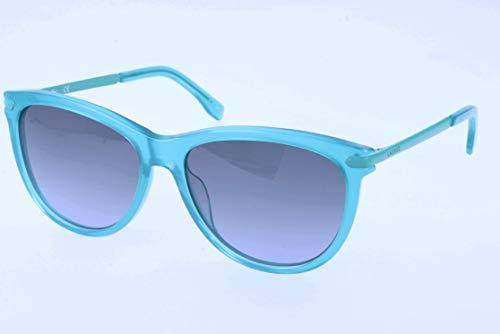 Lacoste sonnenbrille l812s occhiali da sole, blu (blau), 56.0 uomo