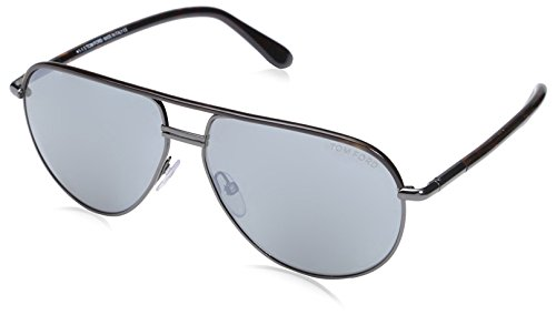 Tom Ford Herren FT0285 52F 61 Sonnenbrille, Braun (Avana Scura/Marrone Grad)