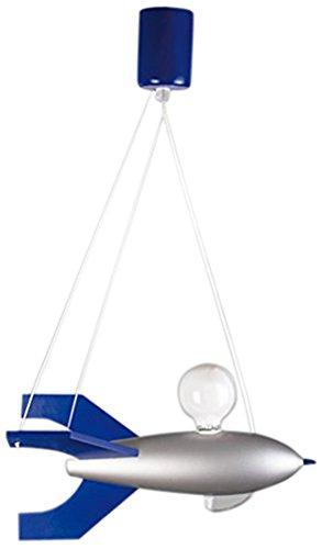 Lampex 104/RAS Lampada sospesa Rakieta, argento