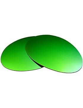 Hkuco Plus Mens Replacement Lenses For Oakley Romeo 1 Sunglasses Emerald Green Polarized