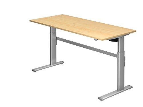 Schreibtisch Hammerbacher Serie XM 180 cm, Dekor: Ahorn