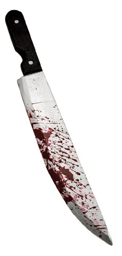 Madness Returns Kostüm - Rubies 6 1053 - blutiges Messer