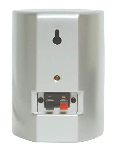 Dynavox AS-301 High Class Satelliten Lautsprecher (60 Watt) silber (Paar) - 2