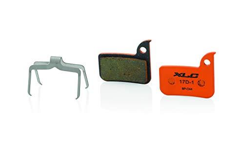XLC BP-O44 - Pastiglie freno a disco, unisex, taglia unica, colore: Arancio