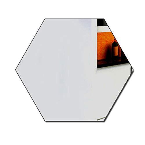 YongPan 50 piezas DIY hexagonal acrílico