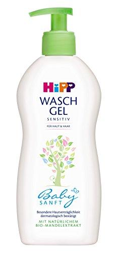 HiPP Babysanft Waschgel und Haar 400ml, 1er Pack (1 x 400 g)