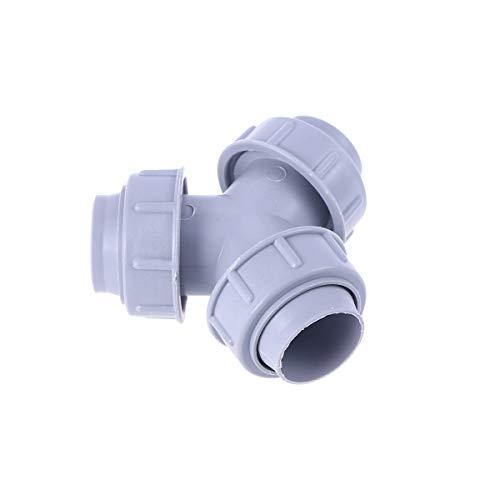 OUNONA Ecknippel Verbindungsstück für Waschmaschine (grau)
