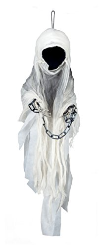 Boland 74551 - Deko-Figur Gesichtsloser Geist, Dekorationen, circa 100 (Geister Dekoration Halloween)