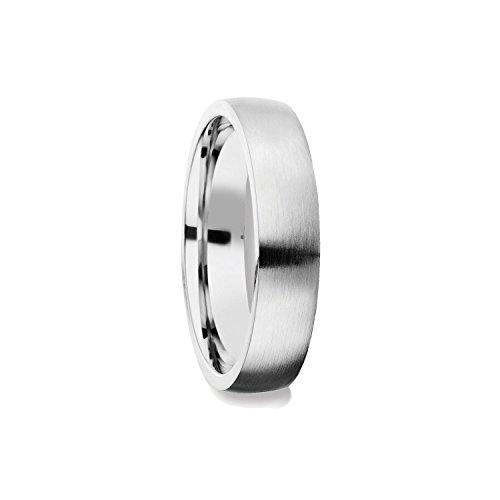 Herrenring Silber 925 Ehering Trauring Hochzeitsring Herren flach Verlobung Verlobungsring Herren Herr Freundschaftsring modern schlicht FF378 SS92562