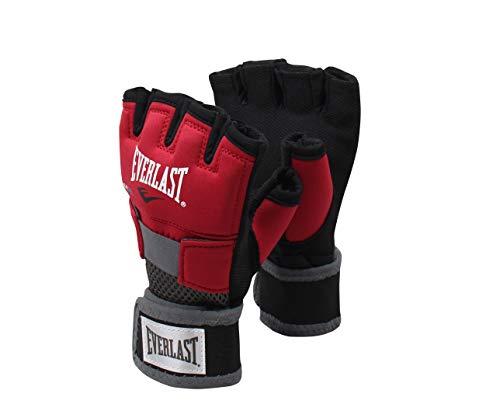 Everlast Erwachsene Boxartikel 4355Ds Evergel Glove Wraps Red, XL -