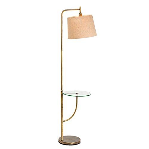& Stehlampen Moderne minimalistische Stehleuchte, Study Wohnzimmer Schlafzimmer Lampe Vertikale Stehleuchte Remote Storage Tray Piano Licht (Farbe : A) -