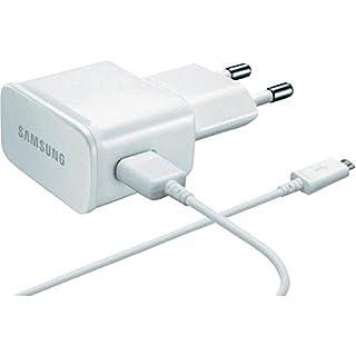 Original Samsung Ladegerät Ladekabel – Farbe Weiss - ETA-U90 - 2 Ampere Netzteil + USB Kabel - Datenkabel (Bulk)