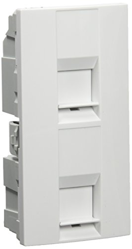 Schneider Electric MGU9.478.18 Tapa Doble Rj45 (Infra+)
