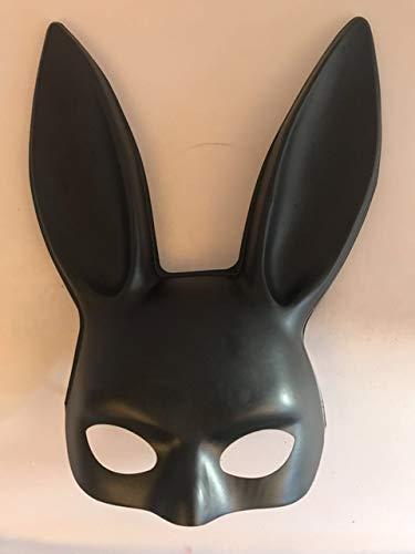 Kaninchen Füße Kostüm - AMSIXP Maske 1pc Halloween Laides Bunny Maske Party Bar Nachtclub Kostüm Kaninchen Ohren Maske Matte Black