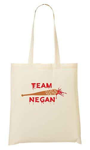 C+P Team Negan Cool Bloody Baseball Bat Tragetasche Einkaufstasche -
