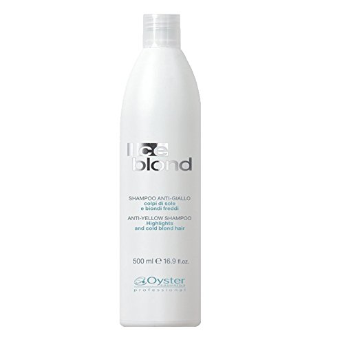 Oyster ICE BLONDE Silber-Shampoo No Yellow 500ml