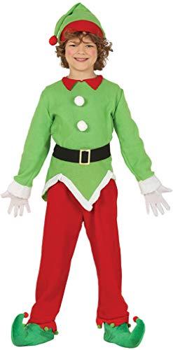 Jungen Mädchen Nordpol Elf Weihnachten Weihnachten Weihnachten Festlich Fun Krippe Schule Spielen Kostüm Outfit (Nordpol Elfen Kostüm)