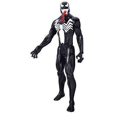Hasbro Spider-Man Titan Hero Villains Venom XNUM piece (s) Black, Red, White Boy / Girl - Toy Figures for Kids (Black, Red, White, 1 year (s), Boy / girl, Action / Adventure, 4 mm, 300 Piece (s))