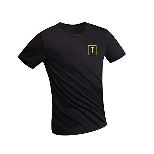 Irypulse Camiseta Hidrofóbica para Hombres y Mujeres, T Shirt Anti-incrustante Impermeable, Unisex...