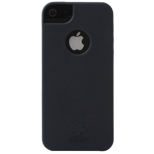 inature-insoft5vb-cover-soft-per-iphone-5-5s-nero