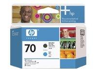 Hewlett Packard-HP 70-Gelb, Magenta-Druckkopf-für DesignJet Z2100, Z3100, Z3200, Z5200, Z5400; Photosmart Pro B8850, Pro B9180 - Photosmart B9180 Hp