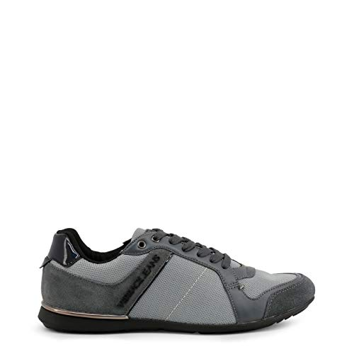 Versace Jeans Tommy Homme Baskets Mode Gris
