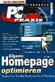 PC Praxis Eigene Homepage optimieren.