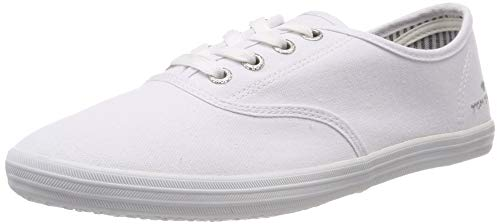TOM TAILOR Damen 6992401 Sneaker, Weiß (White 00002), 41 EU -