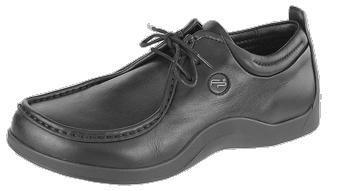 FOOTPRINTS Merida femmes Chaussures Cuir naturel, noir2, Taille 38 avec semelle ètroite