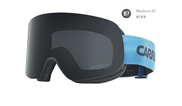 0d3fd432a9a2 Carrera Rimless Evo Goggles, Black Black Blue: Amazon.co.uk: Sports &  Outdoors