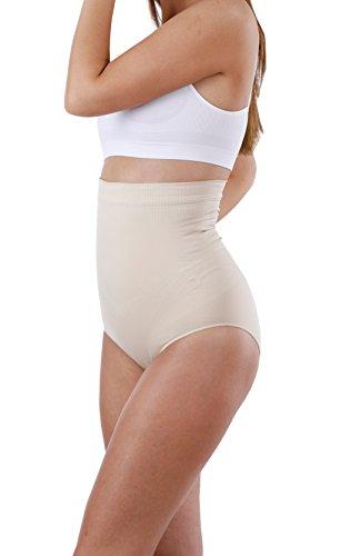 Yenita® Figurformender Damen Miederslip mit Shaping-Effekt und Silikonbund Haut