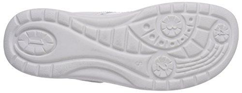 Ganter  AKTIV FABIA, Weite F, Sandales ouvertes femmes Blanc - Weiß (weiss 0200)
