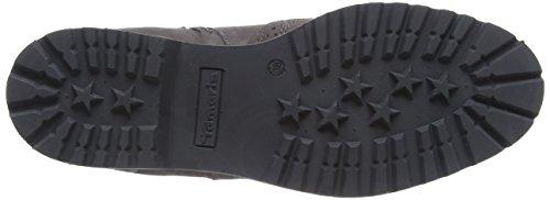 Tamaris 25418 Damen Chelsea Boots Grau (Anthracite 214)