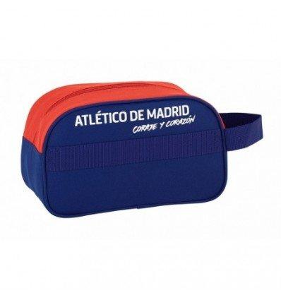Safta Neceser Atlético De Madrid 'Coraje'Oficial Mediano con Asa 260x120x150mm