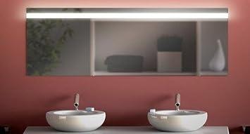 Badspiegel mit Beleuchtung CEK M316N1: Design Spiegel für Badezimmer ...