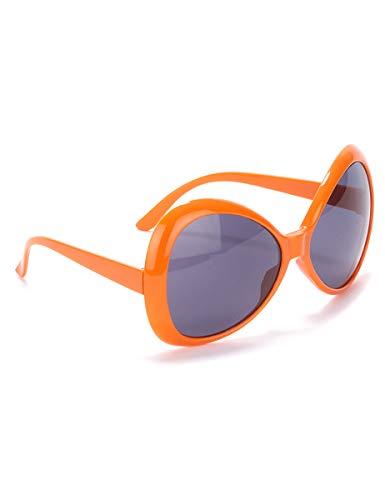 Generique - Brille für Erwachsene in Orange mit getönten Gläsern