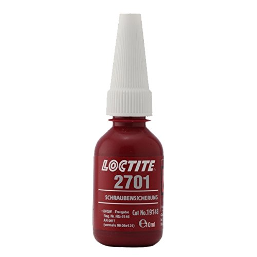 Loctite 195827 Tube de Remplissage Freinfilet 2701, 10 ML