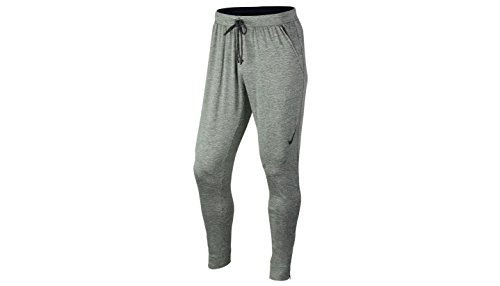 NIKE Herren Ultimate Dry Knit Trainingshose Gris / Negro (Tumbled Grey/Black/Black)