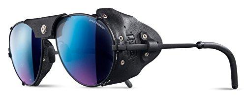 Julbo Cham Sonnenbrille Unisex Erwachsene, schwarz matt/schwarz