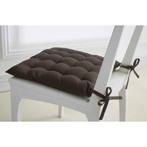 Today 257452Gepolsterter Sitzfläche Baumwolle 40x 40cm, Baumwolle, Bronze, 40x40x4 cm -