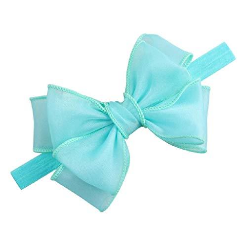 Sasstaids Haarschmucks Bling Pailletten Headwear Baby Mädchen Säuglingshaarband Bow Stirnbänder Haarschmuck (Baby Bling Stirnband Rosa)
