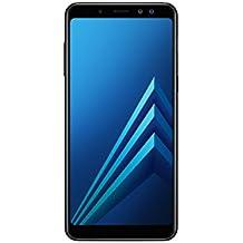Samsung Galaxy A8 (2018) Smartphone, Black, 32GB espandibili, Dual sim [Versione Italiana]