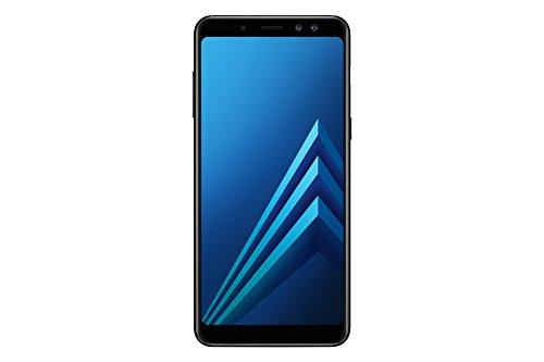 Foto Samsung Galaxy A8 (2018), Black, 32GB espandibili, Dual sim [Versione Italiana]
