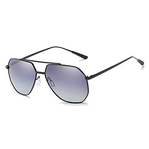 Ppy778 Classic Aviator Polarized Pilot Mirrored UV400 Schutz Fahren Sonnenbrille Mit Premium Metallrahmen Für Herren Damen (Color : Green)