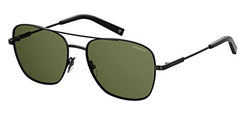 Polaroid Herren Pld 2068/S/X Sonnenbrille, Mehrfarbig (Black), 58