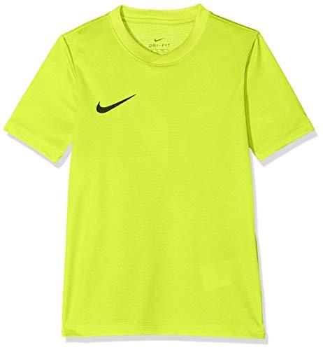 Nike Kinder Park Vi Trikot T-shirt, 725984-702 ,Gelb (Volt / Negro), M -